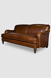 Basel sofa in Brompton Vintage leather