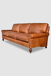 Didi sofa in Berkshire Chestnut leather