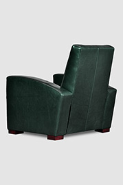 Prescott reclining armchair in Brighton Evergreen leather