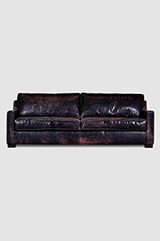Palmer sofa in Brentwood Anthracite leather
