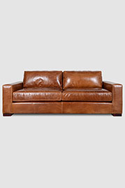 Ashley sofa in Brompton Vintage leather