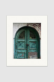 Bathhouse Doorway Print