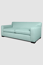 Bobby sofa in Sunbrella Flagship Mineral stain-proof fabric