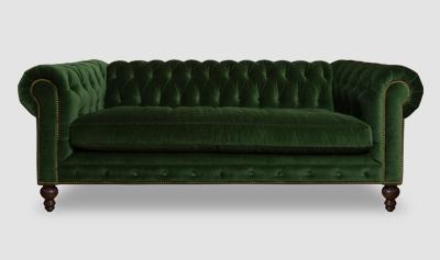 green velvet chesterfield chesterfield furniture history