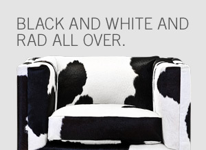 Black and white and rad all over.