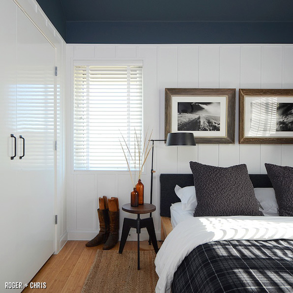 Modern farmhouse guest bedroom blog roger chris for Farmhouse guest bedroom
