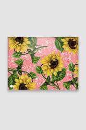 Small Utility Board, Sunflowers