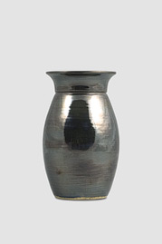 Narrow Medium Vase, Metal