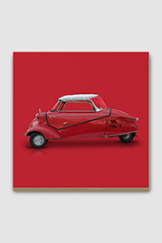 Messerschmitt KR200 Microcar Plywood Print