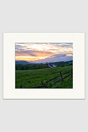 Farm Sunset Print