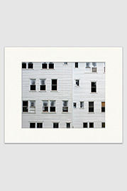 Roseboro Hotel Windows Print