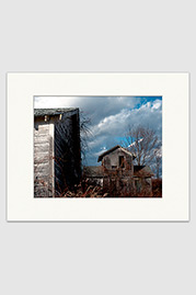 Abandoned Cabins Print