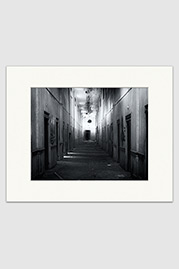 Lower Baths Hall B+W Print