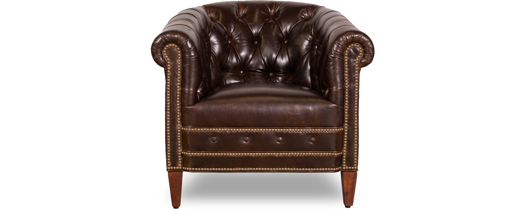 Collins Tufted Barrel Chair Roger Chris