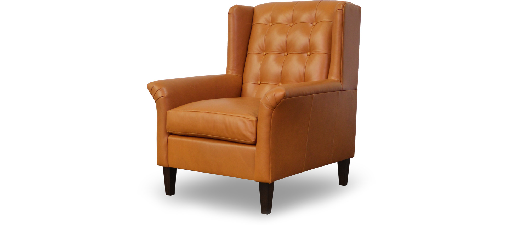 Pops Tufted Modern Wingback Chair Roger Chris