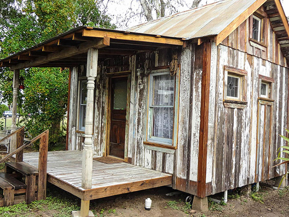 Tiny house in Texas