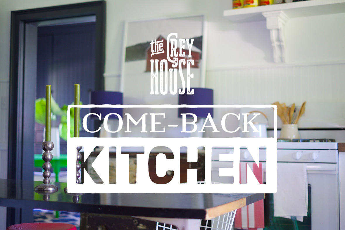 Come-back kitchen.