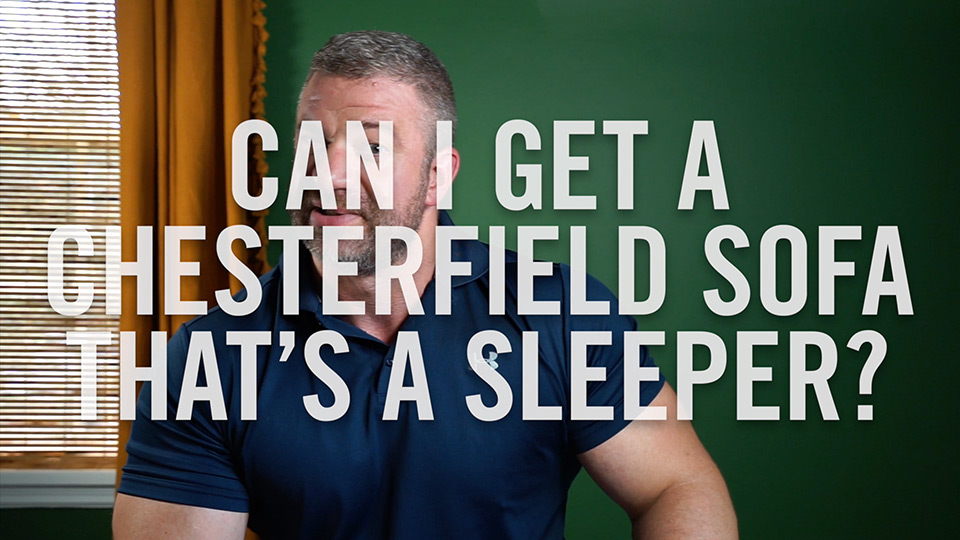 Can I get a Chesterfield sofa that's a sleeper?