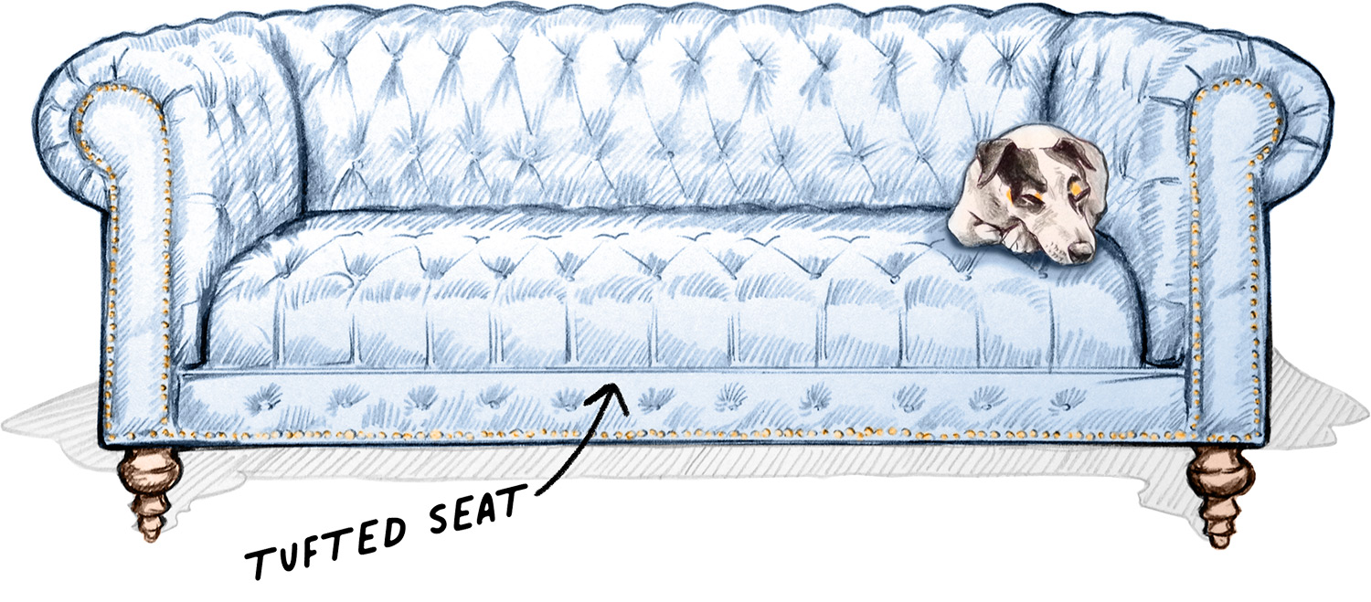 Tufted Seat