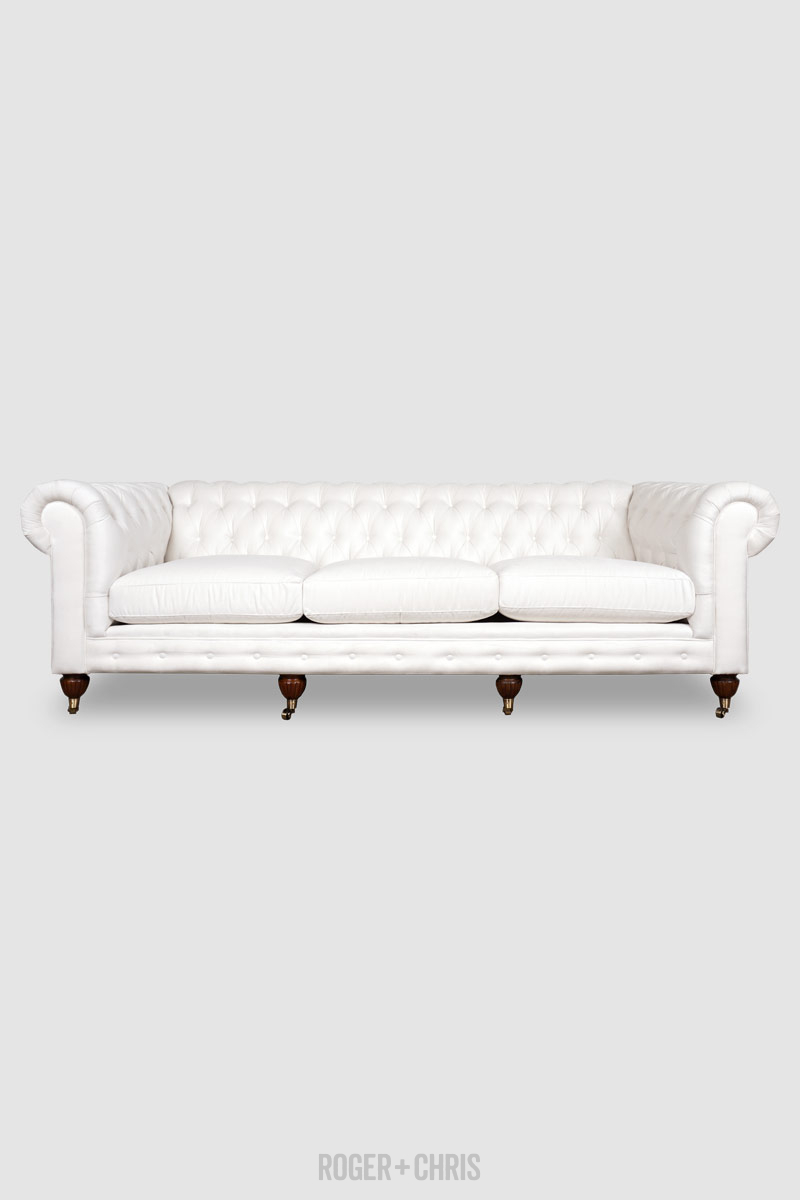 Admirable 96 Higgins Chesterfield Sofa In Thompson Winter Off White Onthecornerstone Fun Painted Chair Ideas Images Onthecornerstoneorg