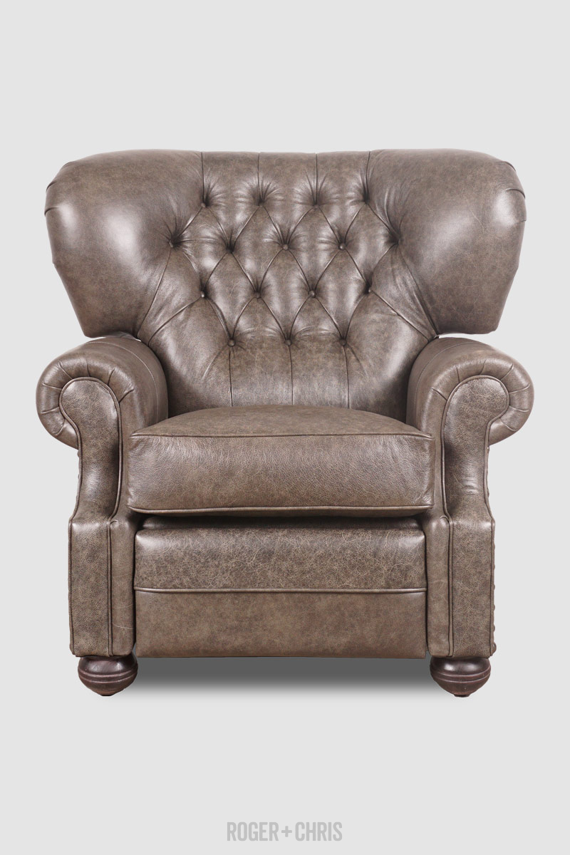 Eugene Tufted Wingback Recliners