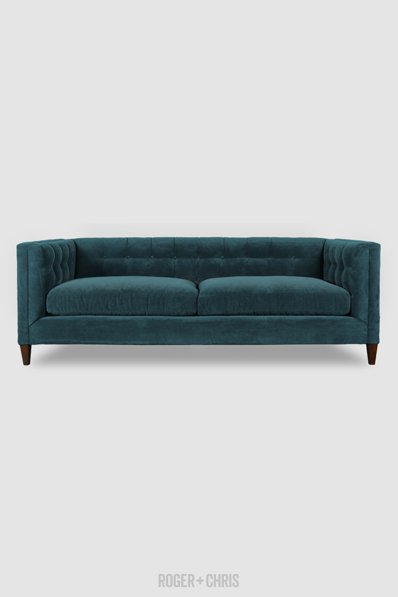 Mid-Century Modern Tuxedo Sofas, Armchairs, Sectionals | Atticus