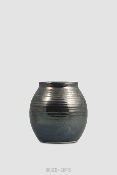 Short Lip Small Vase Metal Roger Chris