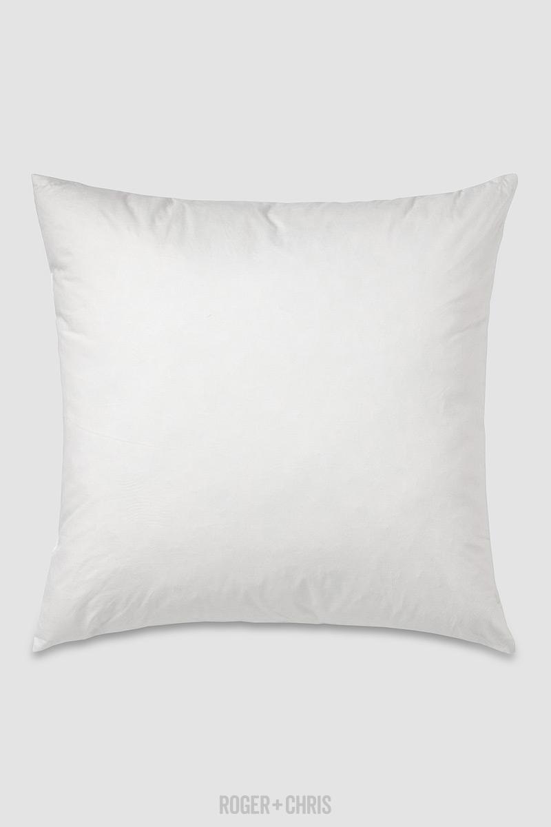 Pillow insert roger chris for Best euro pillow inserts