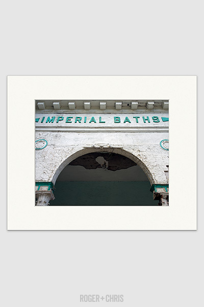 Imperial baths print roger chris for Imperial printing