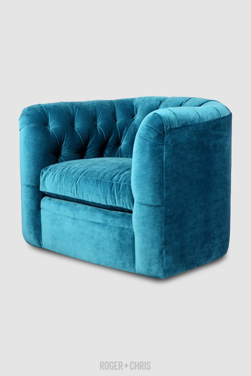 Oliver Tufted Barrel Chair