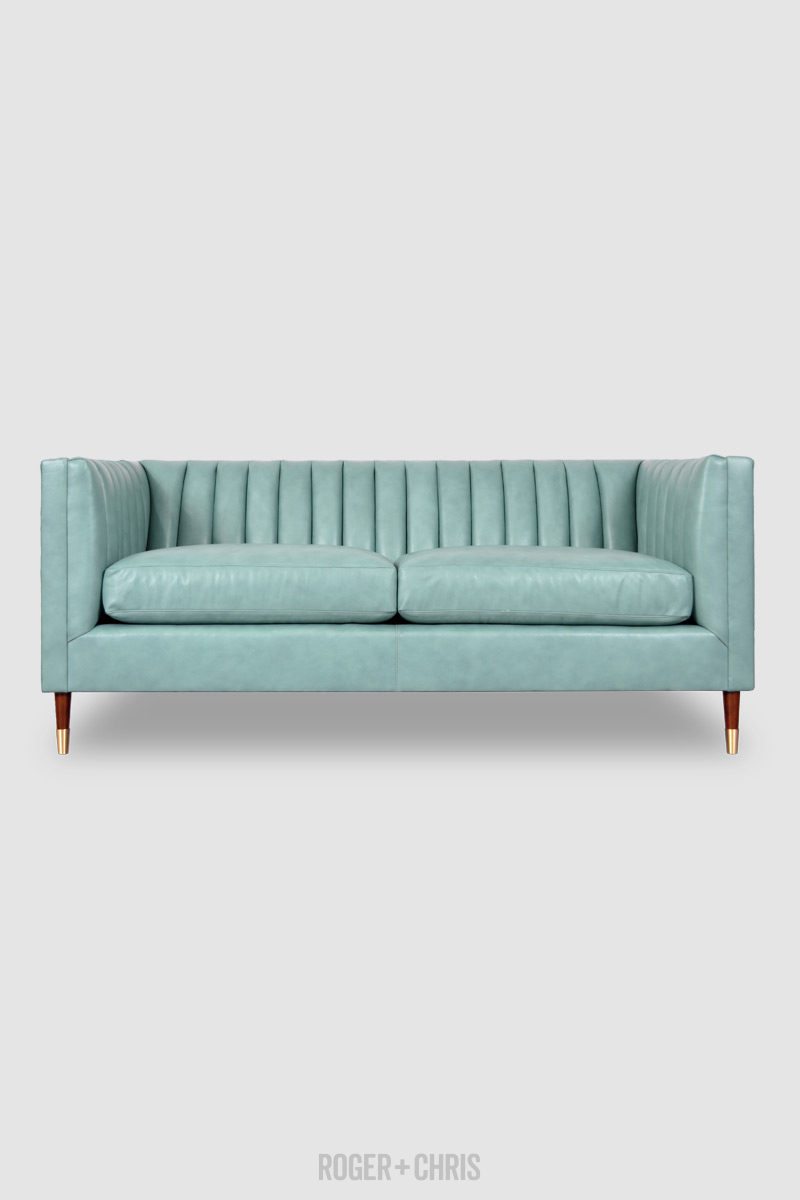Mid-Century Modern Channel-Tufted Shelter Sofas, Armchairs, Sectionals | Harley
