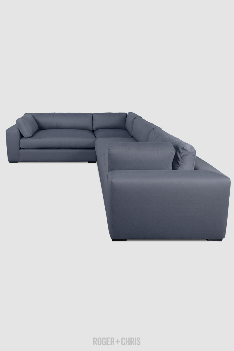 Chad Relaxed Modern Sofa