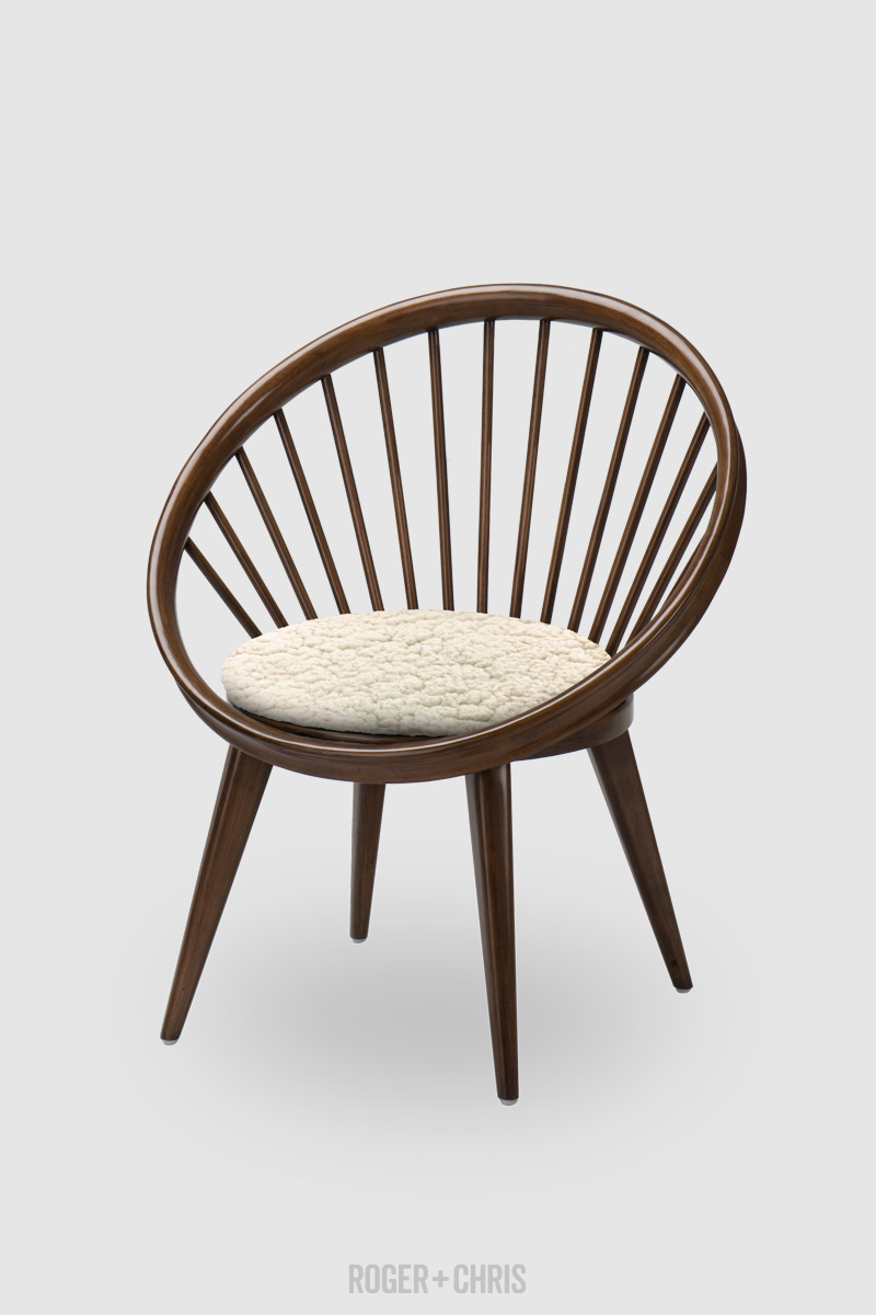 Buttercup Spindle Accent Chair