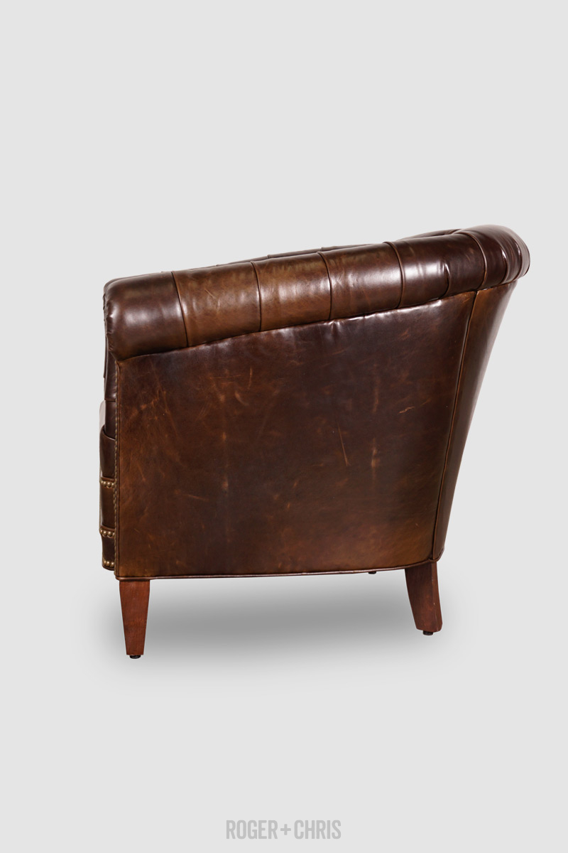 Collins Tufted Barrel Chair
