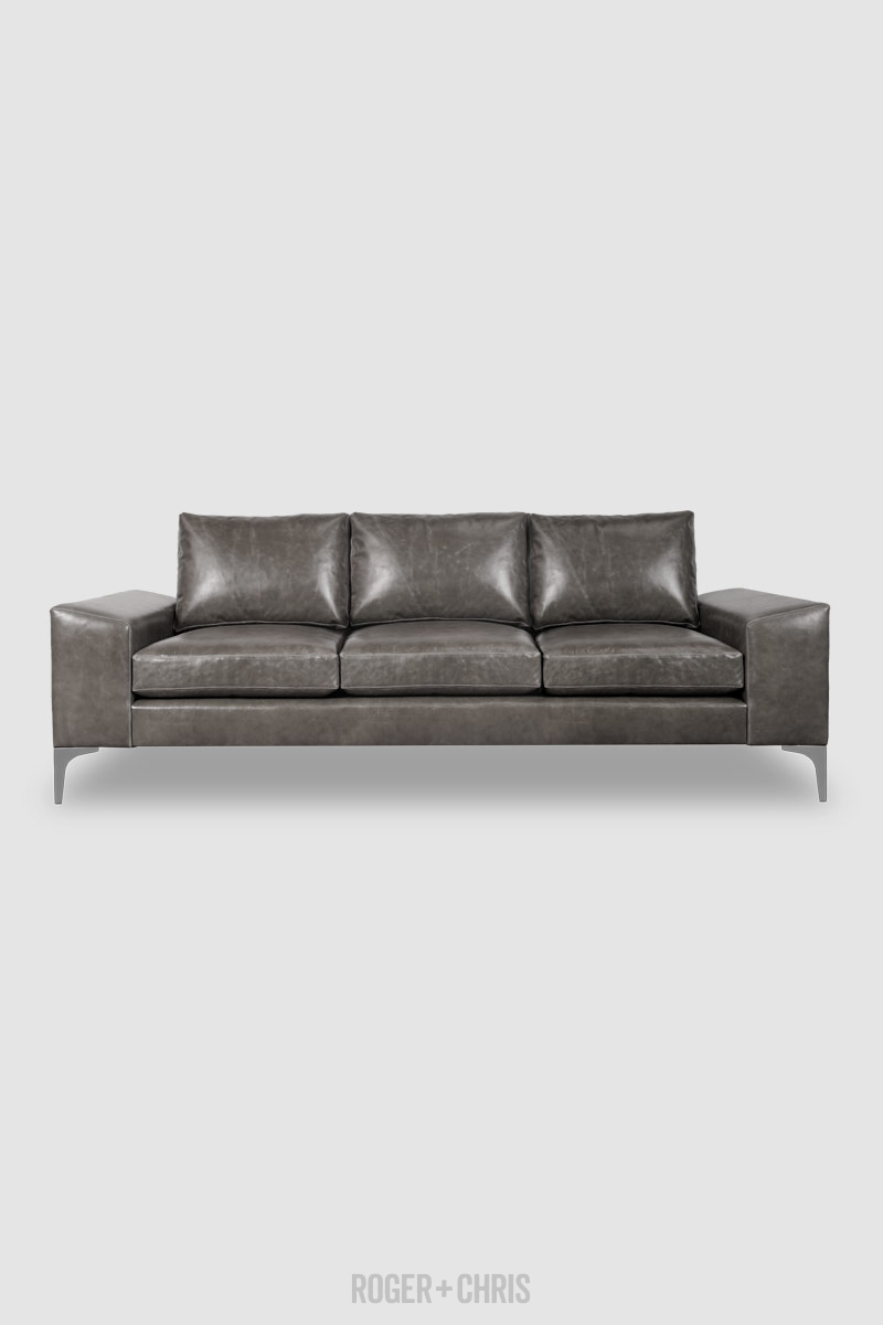 Wondrous 91 Cricket Contemporary Sofa In Cortina Rhino 1185 Grey Ocoug Best Dining Table And Chair Ideas Images Ocougorg