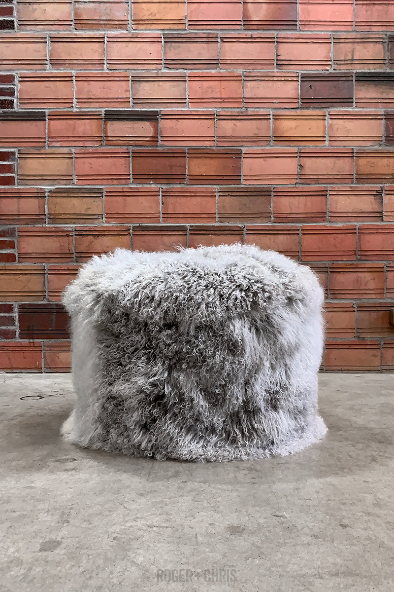 Cousin Sit Fluffy Monster Ottoman