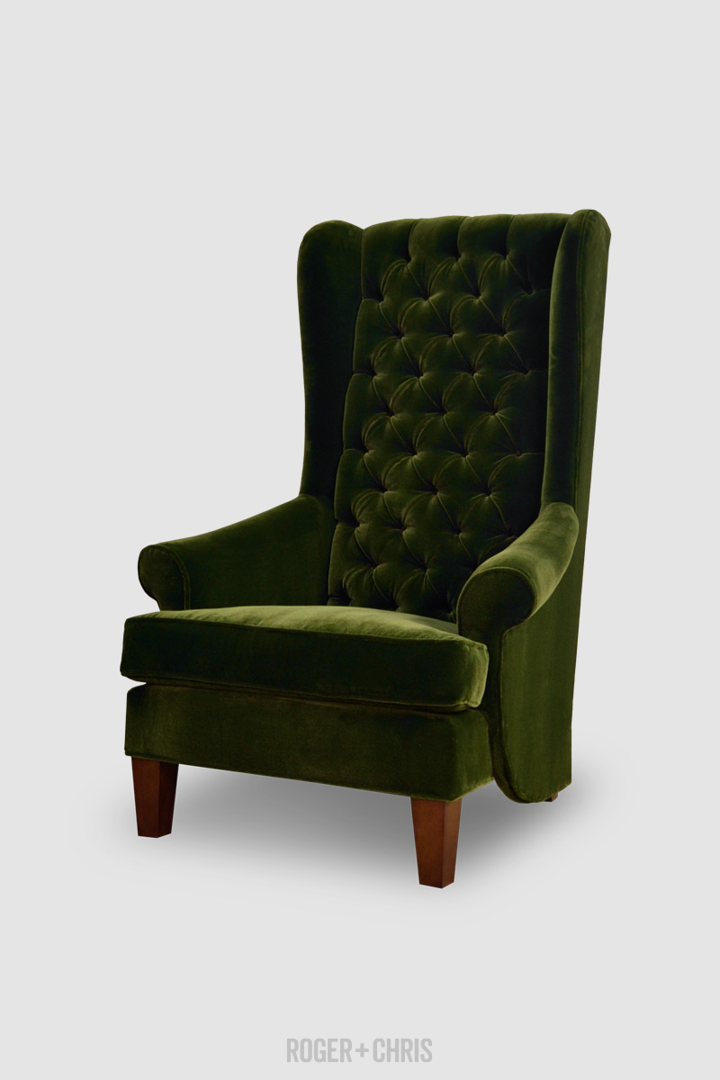 Inspector High Wingback Chair