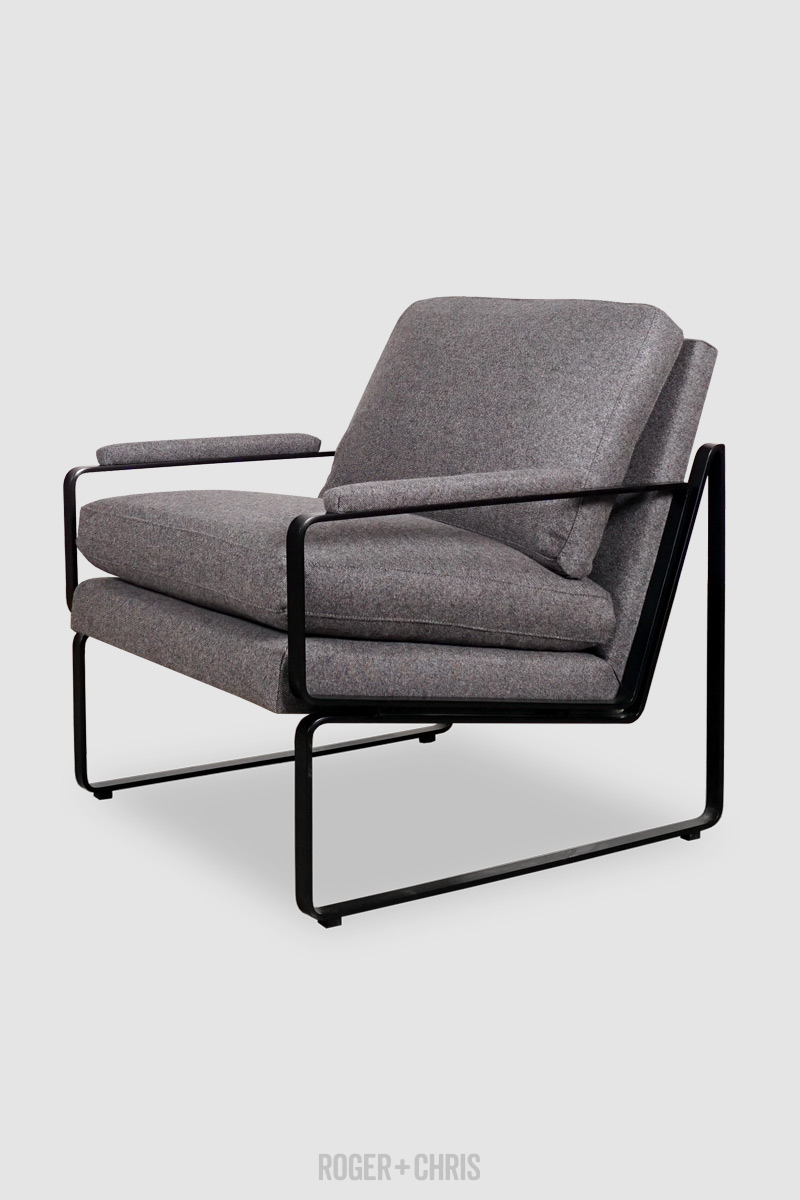 Weldon Modern Metal Chair