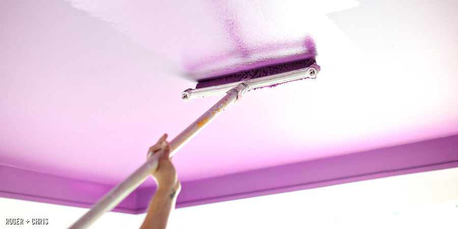 Dropping ceiling color