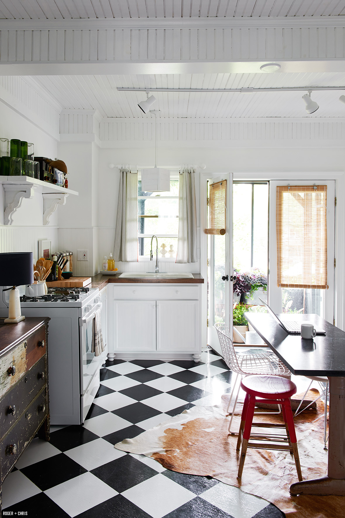 The finished kitchen. Photo by Alec Hemer.